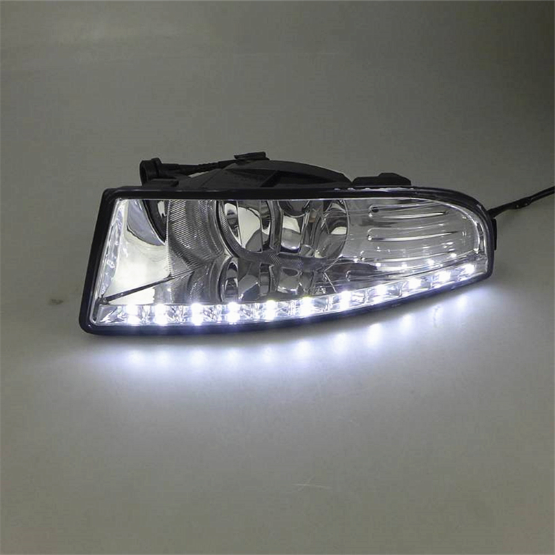 Car Flashing 2 pcs for SKODA OCTAVIA A5 2010 2013 LED DRL Daytime Running Lights Daylight