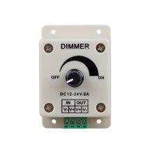ШИМ Затемнения Контроллер для СВЕТОДИОДНЫХ Светильников, Ленты, газа, 12-24 Вольт (12 В-24 В) 8 Amp