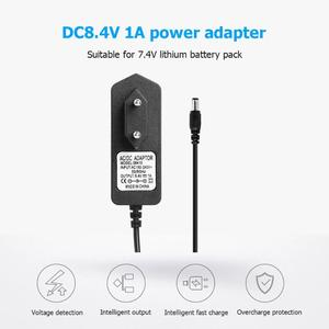 Image 5 - 18650 DC 8.4V 1A/4.2V 1A/21V 2A/16.8V 1A/8.4V 2A Lithium Battery Charger Adapters US EU Power Adapter Charger Battery Charger