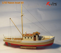 Scale 1 50 Classics Sail Boat Model The NAXOS Fishing Boat Wooden Model Kit