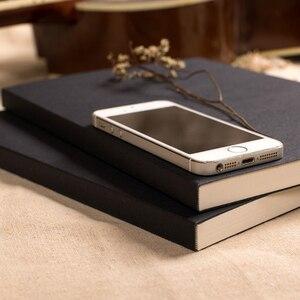 Image 2 - Скетчбук EZONE с черной картой, скетчбук, арт маркер, книжка для рисования, ретро альбом для рисования, школьные и офисные принадлежности, Papelaria