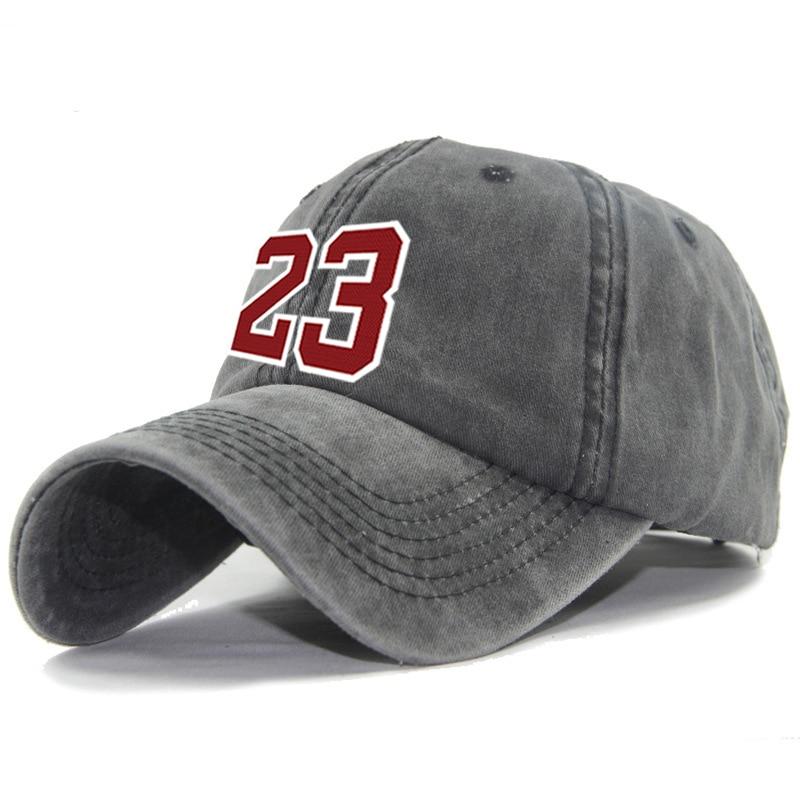 Cool Red Letter 23   Baseball     Cap   Hip Hop Snapback Hat Simple Classic   Caps   Flat Bill   Baseball     Cap   Jordan Women Dad Hat Bone