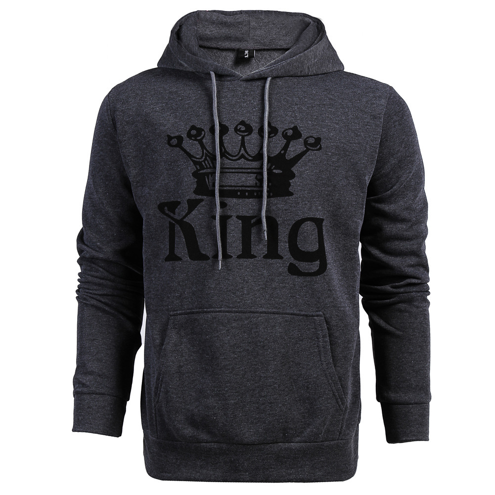Autumn Winter Knitted King Queen Letter Printed Couple Hoodies Hip Hop Street Wear Sweatshirts Women Hooded Pullover Tracksuits Autumn Winter Knitted King, Queen Printed Couple Hoodies HTB1gpb0mGagSKJjy0Fgq6ARqFXaf