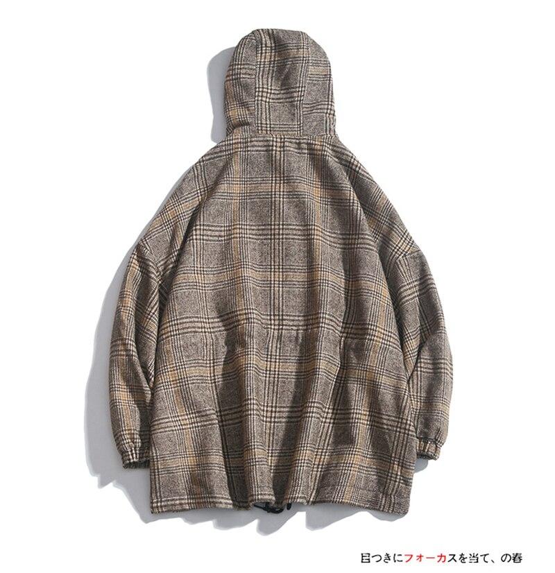 Male Long Coat Oversize Lapel Button Sobretodos Hombre Overcoat Streetwear (7)