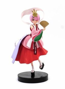 """9"""" Re: Life In a Different World from Zero Anime Ram Kaguyahime ver. Boxed 23cm PVC Action Figure Model Doll Toys Gift"""