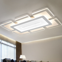 Ecolight Modern Led Ceiling Light Living Room Lights Acrylic Decorative Lampshade Kitchen lamp lamparas de techo Modern Lamps