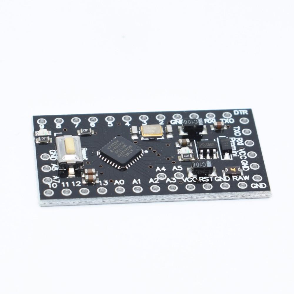 10pcs With The Bootloader Pro Mini ATMEGA328P-MU 328 Mini ATMEGA328 5V/16MHz Black For Arduino