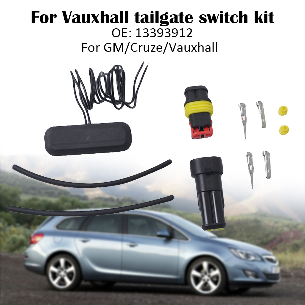 New Oe13393912 Car Tailgate Opening Switch Trunk Lid Release Lift Rear Gate Kit Push Button For Vauxhall Insignia Gm Cruze Cleaning The Oral Cavity.