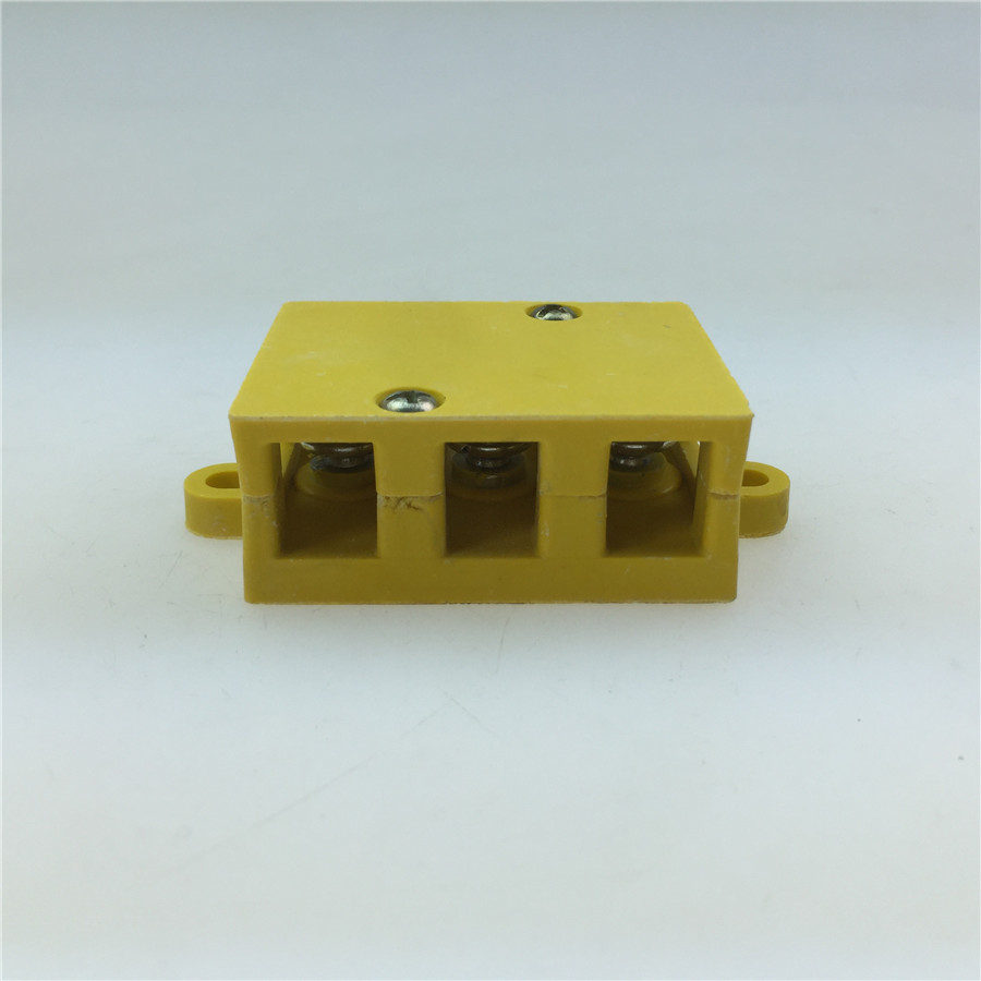 Electric Tricycle Accessories Bakelite Motor Terminal Junction Box / High Temperature Wire Junction Box 3 5/6 Junction Box