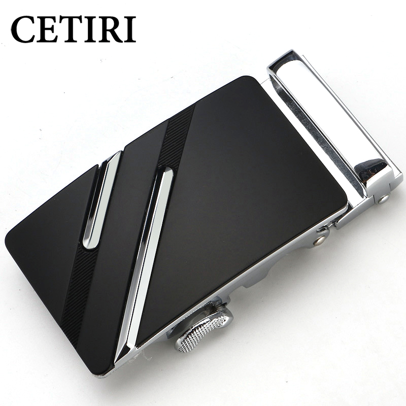 CETIRI Famous Brand Belt Buckle Men Top Quality Luxury Belts Buckle For Men 3.5 Cm Strap Male Metal Automatic Buckle