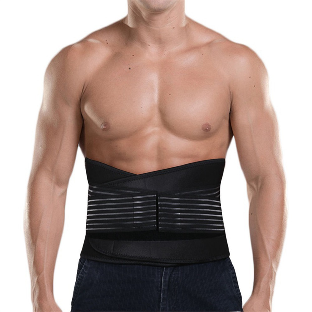 Adjustable Waist Cinchers Slimming Belt Girdle Man Waist Protector Modeling Strap Male Waist Trainer Neoprene Body Shapers S-3XL