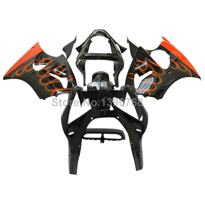 Injection molding ABS fairing kit for Kawasaki ZZR 600 2005 2006 2007 2008 orange black lowest price fairings ZZR600 05-08 ZR8 агафья звонарева рецепты с секретом