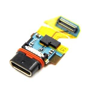 10 шт./лот оригинальный USB микро док-станция порт для зарядки гибкий для Sony Xperia Z5 зарядный разъем usb гибкий кабель