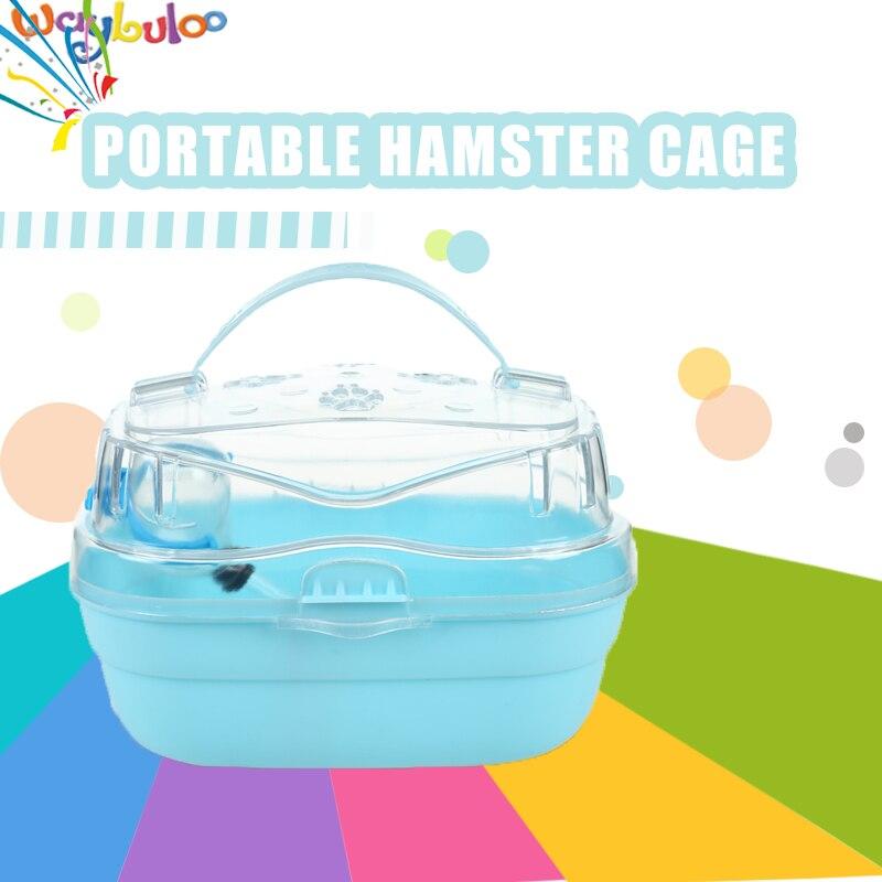 Gratis transport Hamster transparante kooi Accessoires voor - Producten voor huisdieren