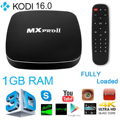 MXPRO II Smart Android 5.1 TV Box Amlogic S905 Quad Core 8G ROM Bluetooth 4.0 XBMC 4K 2.4G 5G Dual Wifi Set Top Box AH123