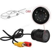 Waterproof 2.8mm HD 640 x 480 420TVL 1/4 CMOS Mini 9 IR Lights Car Camera Action DVR Digital Video Recorder Night Vision