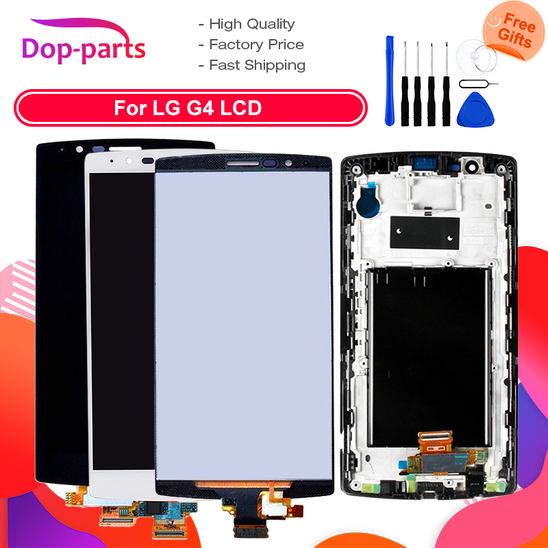 5.5'' LCD Display For LG G4 H815 Display Touch Screen Digitizer with Frame H810 H811 Replacement Screen for LG G4 Dual H818 LCD image