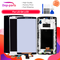 5.5'' LCD Display For LG G4 H815 Display Touch Screen Digitizer with Frame H810 H811 Replacement Screen for LG G4 Dual H818 LCD