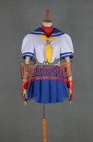 Street Fighter Sakura Kasugano Cosplay costume uniform custom made