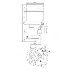 Image 4 - モーター 5 メガピクセルバリフォーカルレンズ 5 50 ミリメートルD14 dcアイリス電動ズームとフォーカス長距離ビュー 1080/5MP ahd/ipカメラ