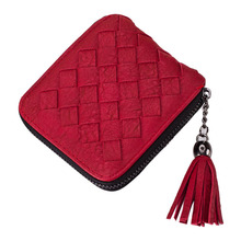 Purse Designer Women's Tassel Wave Wallet Female Wallet Women Squre Purse Women's Leather Visiting Cards Portefeuille Femme #816