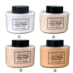 Image 3 - Face Foundation Powder Oil Control Contour Full Cover Long Lasting Banana Translucent Mineral Makeup Professional Base Matte