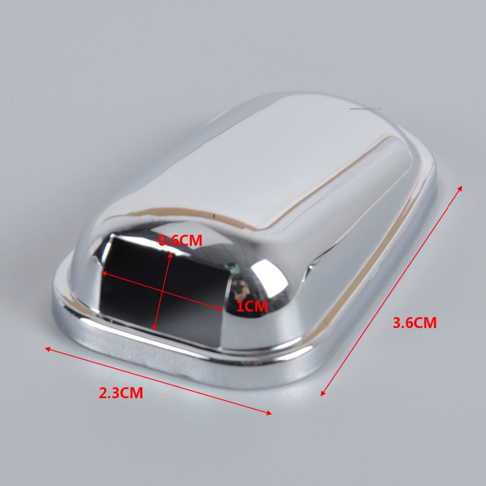Aliexpress com buy dwcx car chrome windshield washer wiper spray nozzle cover caps for ford kuga escape 2013 2014 free shipping tracking number from