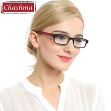 Long Temple Reading Glasses Black and Red Reader Hang Around on Neck