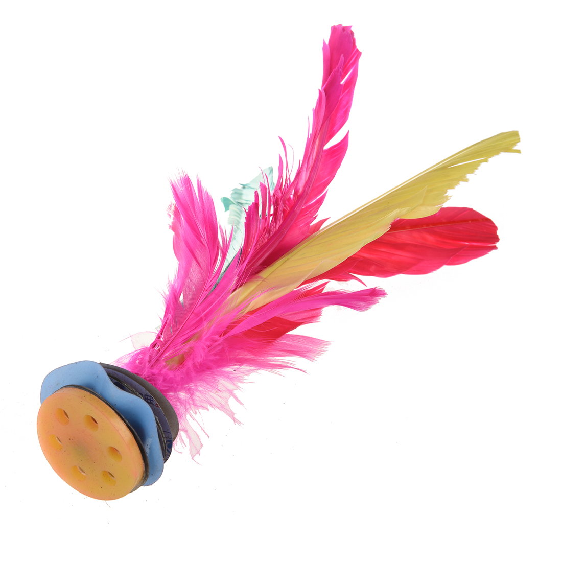 SODIAL Colorful Feather Kick Shuttlecock Chinese Jianzi 2 Pcs R