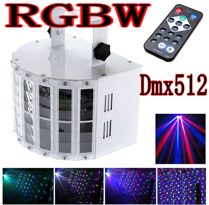 6 Channel RGBW Dmx512 Stage Lighting Effect Voice-activated Voice-control Automatic Control LED Laser Projector DJ  KTV Disco 2pcs dj disco par led 54x3w stage light dmx strobe flat luces discoteca party lights laser rgbw luz de projector lumiere control