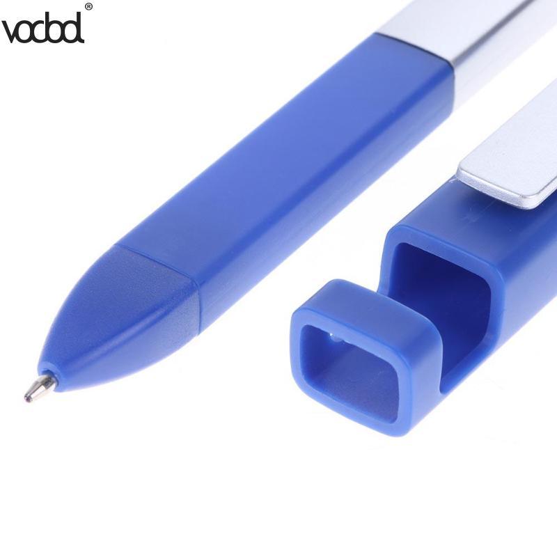 4 в 1 Многофункциональная подставка для мобильного телефона держатель кронштейн стилус конденсатор сенсорный экран ручка-отвертка инструмент шариковая Canetas горячая распродажа