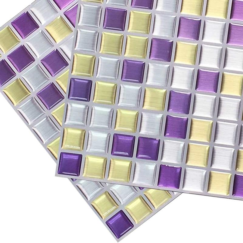 Schälen Und Stick Wandfliese Aufkleber Anti Form Mosaik Fliesen Für Flur  Mosaik Wohnzimmer Badezimmer