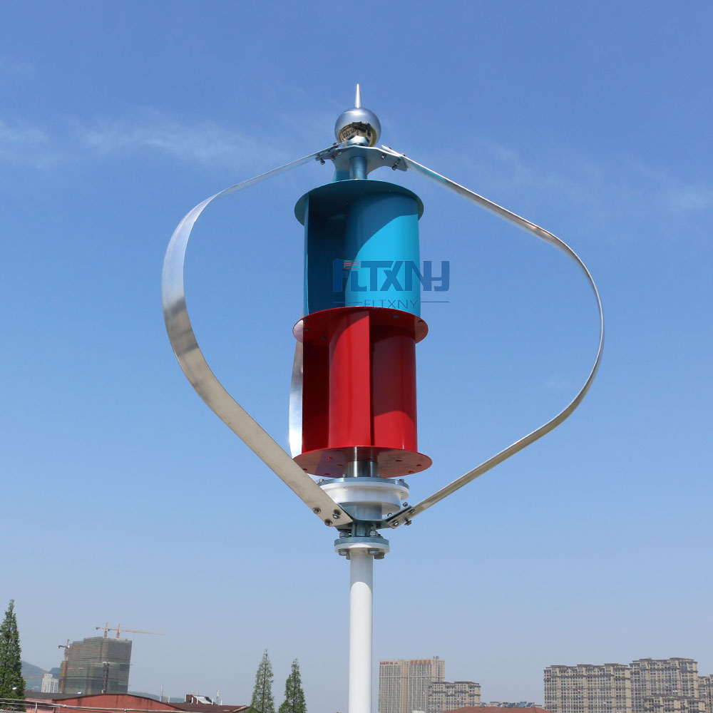 100w200w300w vertical axis wind turbine 1.3m start up 12v 24v with maglev generator packing with MPPT 12v 24vAUTO regulator free shipping 600w wind grid tie inverter with lcd data for 12v 24v ac wind turbine 90 260vac no need controller and battery