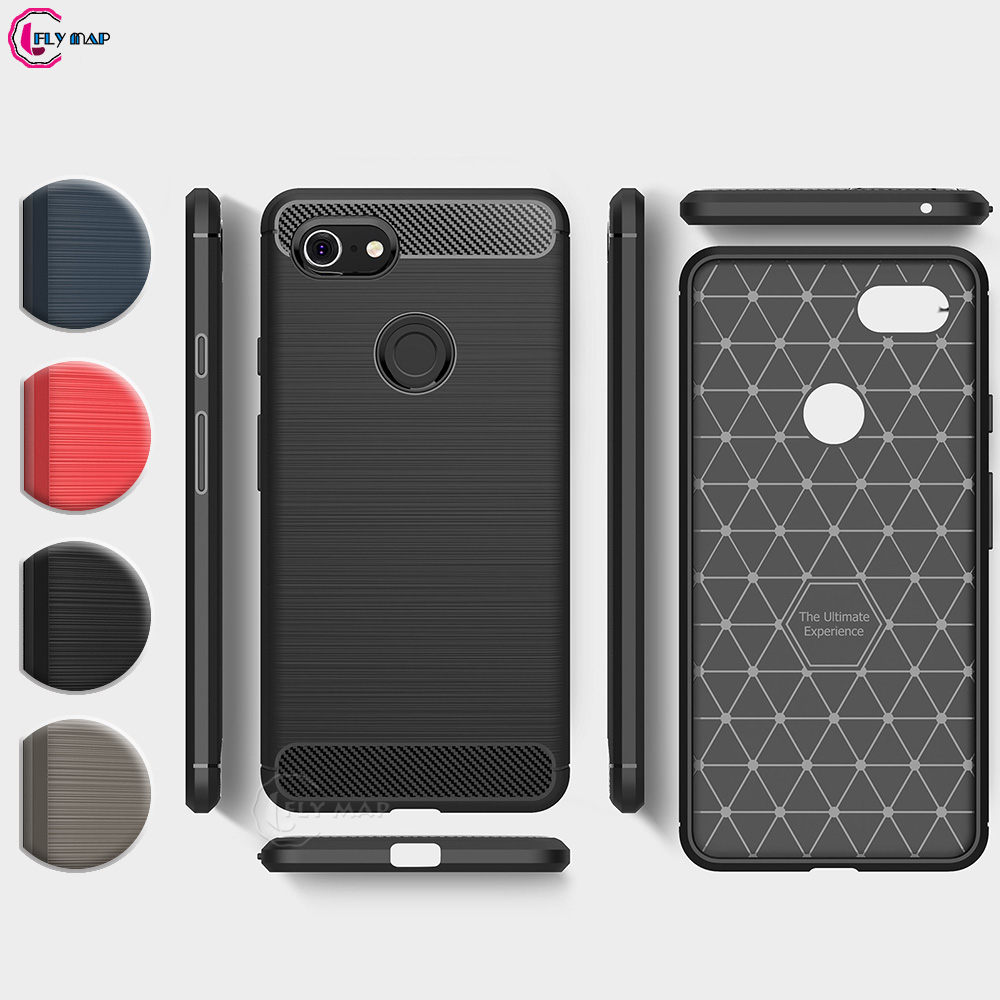 check out 12f0c 2223b US $4.1 8% OFF PC Armor TPU Case For Google Pixel 3 XL Silicon Anti Shock  Hard Protection phone Cover for Pixel 3XL Pixel3 XL G013C Capa Coque-in ...