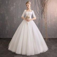 Kualitas Tinggi Muslim Wedding Gown Simple Beli Murah Muslim Wedding