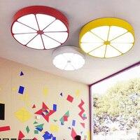 Детская светильник потолочный огни личность lemon Мультфильм светодиодный потолок спальни гостиной столовой Детский Светильник ET87