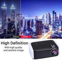 Prise EU Portable HD 1080P 3D mini projecteur LED 10000 lumens1080P 1280*768 rapport de diffusion multimédia 3000: 1 pour Home Cinema