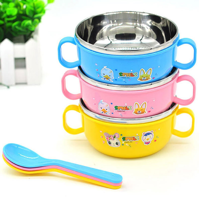 High Quality Children Kids Handle Soup Bowl Container Dish