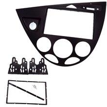 2 Din автомагнитола фасции подходит для Focus/Fiesta 2006(европейский, LHD) Автомобильная установка DVD рамка DVD payer панель facia Dash комплект