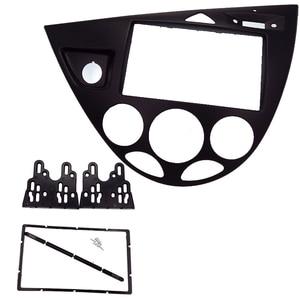 Image 1 - 2 Din راديو السيارة اللفافة يصلح للتركيز/فييستا 2006 (الأوروبي ، LHD) سيارة تجديد DVD الإطار DVD لوحة دافعي facia داش عدة