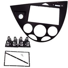 2 Din car radio fascia fit for Focus / Fiesta 2006 (European, LHD) Car refitting DVD frame DVD payer panel facia Dash Kit