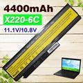 4400 mah batería para lenovo thinkpad x220 x220i x220s 42t4901 42t4902 42y4940 42t4873 42y4874 42t4863 42y4864 42y4868