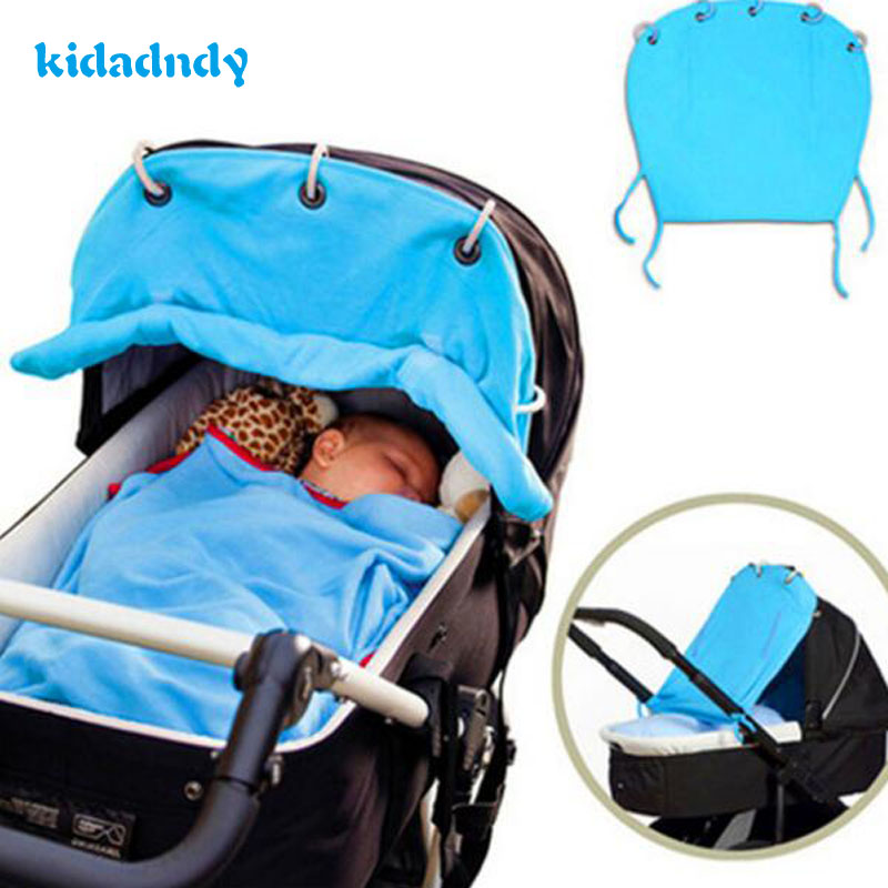 kidadndy Be Rolled Up SunPure Cotton Shade Cloth Ventilation Baby Stroller Is Prevented Bask Curtains Protection CoverKSZQ225R bask putorana hard