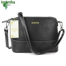 Imentha Neue 2016 Schwarz Mode Frauen Crossbody-tasche Weiblichen Umhängetaschen clutch Kleine Tasche Frauen Messenger Bags