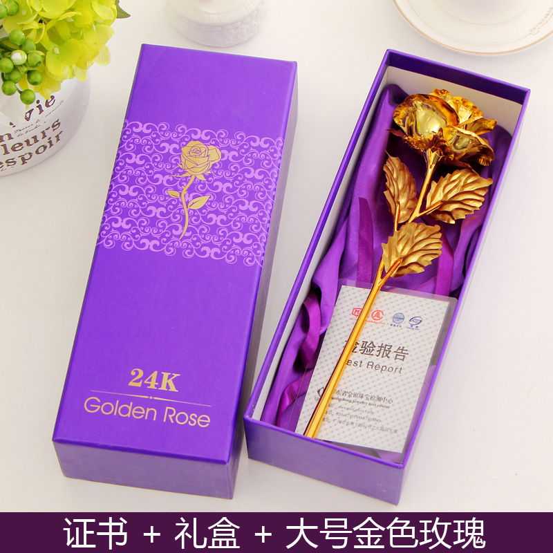 1 Piece Fashion Romantic Rose Unique Birthday Gifts For Wife Girlfriend Creative Festivals Party Favor Business Souvenir