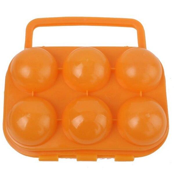Портативный яйца держатель/Пластик яйцо ящик для кемпинга и Пикник (разные цвета)