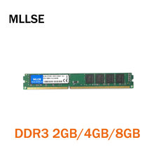 MLLSE New Sealed DIMM DDR3 1333Mhz 4GB PC3-10600 memory for Desktop RAM,good quality!compatible with all motherboard!(China)