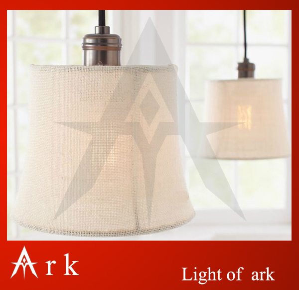 ark light American style pendant light fabric pendant light pendant lamp wrought iron pendant light living room lamps-X0102 free shipping american style living room vintage crystal lamp personalized black wrought iron pendant lamp dia 74 h53cm