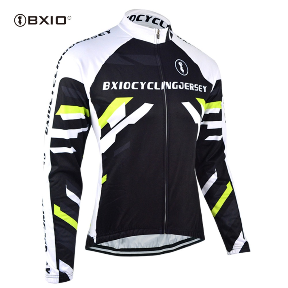 BXIO À Manches Longues Sport VTT Vélo Vêtements Respirant Hommes Chemise  Route Montagne Vélo Port Vélo Jersey Maillot Ciclismo 006 e704f388c1c0