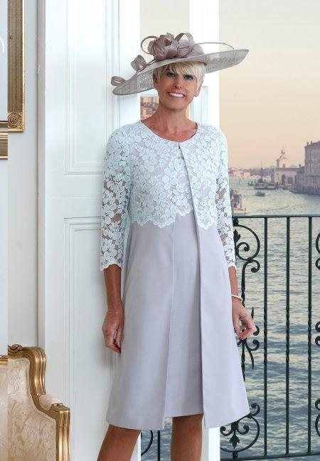 Mother Of The Bride Groom Dresses Set 2019 Vintage Lavender Jacket Outfit Wedding Party Gowns Kurti Vestidos De Madrinha Farsali